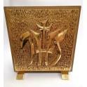 Naujas katalikiškas 24 karatų auksu dengtas katalikiškas tabernakulis