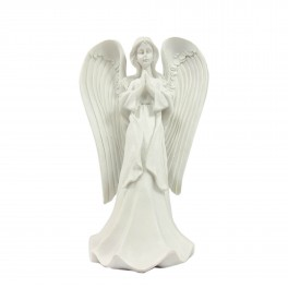 Baltas angelas 24 cm